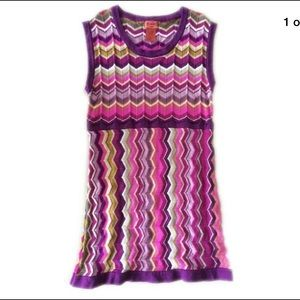 Missoni Target Girls Children Sweater Dress 4/5 T